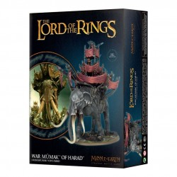 WAR MUMAK OF HARAD Olifante Lord od the Rings Middle Earth Games Workshop