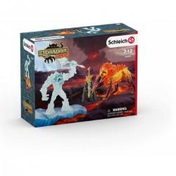 BATTAGLIA PER L'ARMA SUPREMA creatures ELDRADOR miniature in resina SCHLEICH fantasy 42455 età 7+