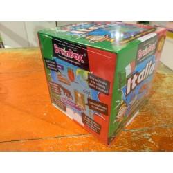 BRAIN BOX ITALIA gioco di carte ITALIANO memoria 10 MINUTI brainbox QUIZ età 8+