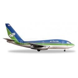 AIR FLORIDA BOEING 737-100 aereo in metallo 528740 modellino HERPA WINGS scala 1:500