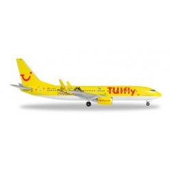 TUIFLY BOEING 737-800 DURER & KLEXI aereo in metallo 528177 modellino HERPA WINGS scala 1:500