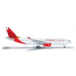 AVIANCA CARGO AIRBUS A330-200F aereo in metallo 526180 modellino HERPA WINGS scala 1:500