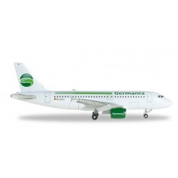 GERMANIA AIRBUS A319 aereo in metallo 518703-001 modellino HERPA WINGS scala 1:500