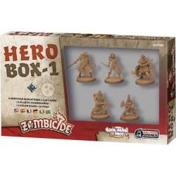 HERO BOX 1 personaggi ZOMBICIDE black plague 5 MINIATURE espansione EROI età 14+