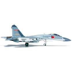 PLAAF SHENYANG J-11 aereo in metallo 555470 modellino HERPA WINGS scala 1:200