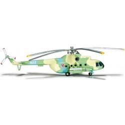 POLAND ARMY AVIATION MIL MI-8T aereo in metallo 555623 modellino HERPA WINGS scala 1:200