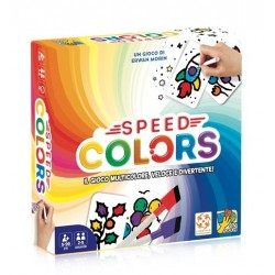 SPEED COLORS colora le carte GIOCO DI RAPIDITA' party game DAVINCI GAMES età 5+