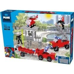 Plus Plus MINI Basic 760 PEZZI costruzioni POMPIERI in plastica GIOCO MODULARE 10 colori 5+