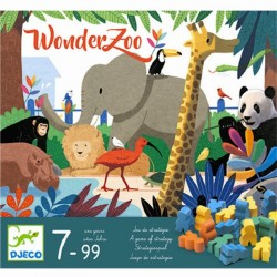 WONDERZOO gioco da tavolo STRATEGIA di società DJECO wonder zoo DJ08402 età 7+