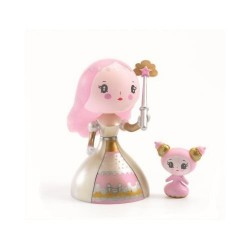 CANDY & LOVELY principesse ARTY TOYS action figure DJECO in resina DJ06781 snodabile MINIATURA età 4+