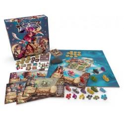 DEAD MAN'S DOUBLOONS in italiano gioco da tavolo di pirati GateonGames