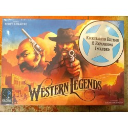 WESTERN LEGENDS Kickstarter edition including 3 expansions Kolossal Games