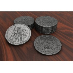 ROBIN HOOD AND THE MERRY MEN set 60 metal coins Kickstarter