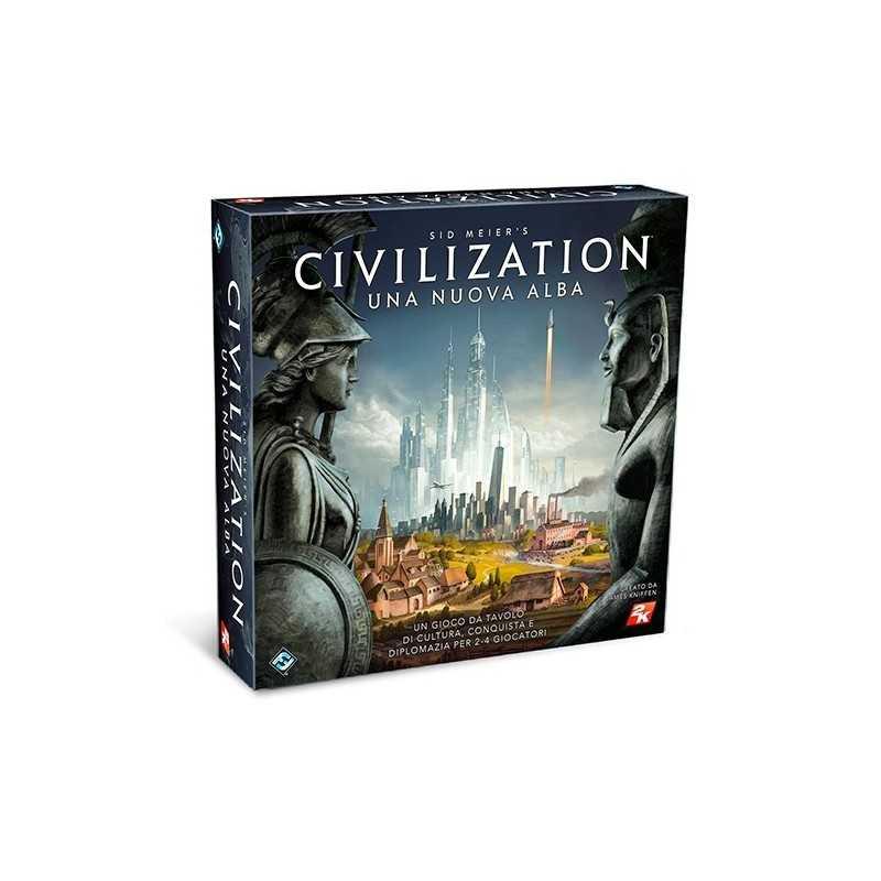 CIVILIZATION Sid Meier in italiano edizione 2018 Asmodee gioco da tavolo strategico