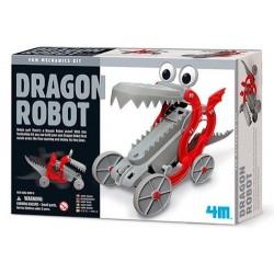 DRAGON ROBOT fun mechanics kit DRAGO bocca apri e chiudi SET SCIENTIFICO gioco 4M età 8+