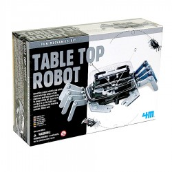 TABLE TOP ROBOT kit scientifico DA TAVOLO set 4M green science GIOCO età 8+