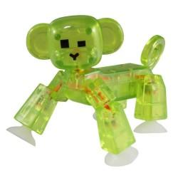 STIKBOT animali STIK MONKEY scimmia VERDE zanimation studios PETS età 4+