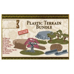 A SONG OF ICE & FIRE Tabletop miniature game Plastic Terrain Bundle 19 pieces expansion