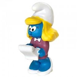 PUFFO MOZZO spazzino Schleich 20763 con scopa Smurfs originale