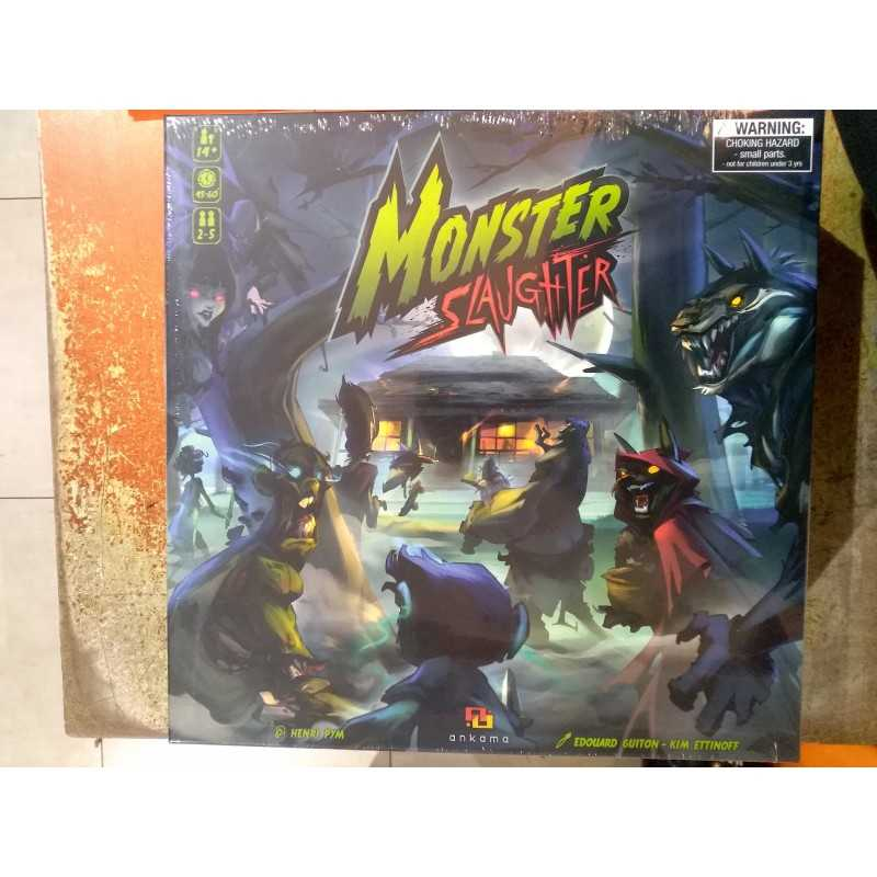 MONSTER SLAUGHTER Kickstarter exclusive edition in English 2018 Ankama with 56 miniatures
