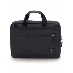 BUSINESS BAG carry on NERO invicta UFFICIO borsa CON MANICI porta computer 15.6""