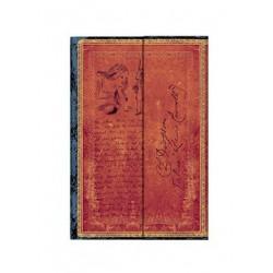 Diario a righe LEWIS CARROLL ALICE mini cm 10x14 - PAPERBLANKS 176 pagine NEL PAESE DELLE MERAVIGLIE
