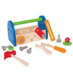 TOOLBOX wooden toy 3 + age...