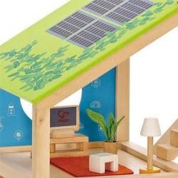Casa 4 stagioni in legno casa delle bambole hape arredata - Casa ammobiliata ...