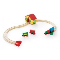 PRIMA FERROVIA treni in legno BRIO trenino 33700 MY FIRST RAILWAY