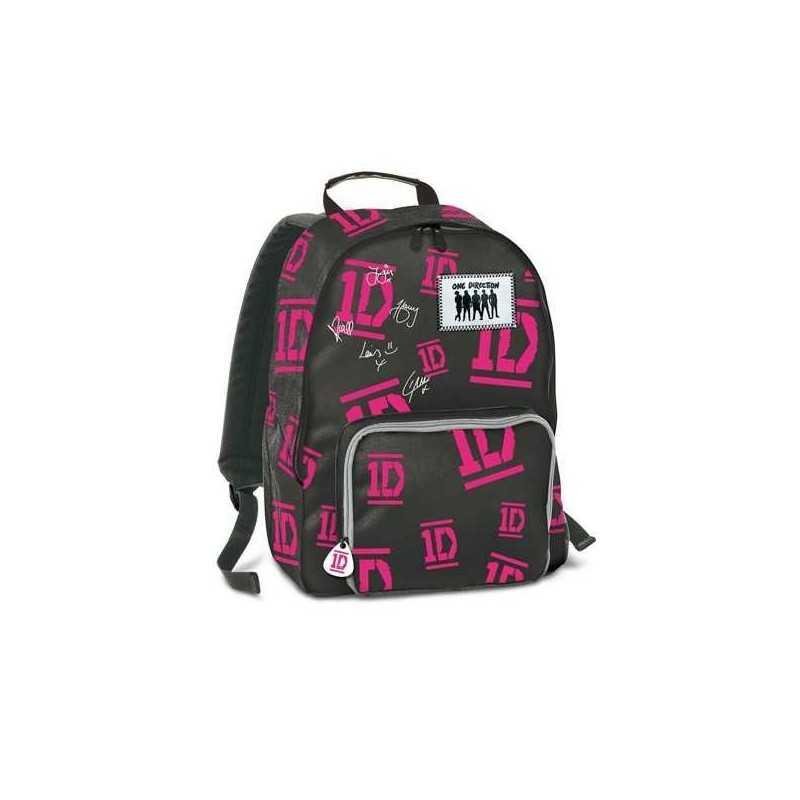 ZAINO ONE DIRECTION SEVEN 1D cartella borsa bag scuola NERO Global