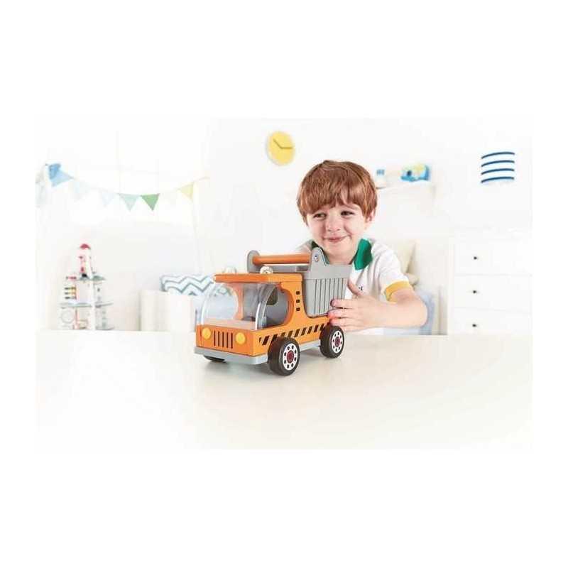 ge de hape camion jouet en bois pliantes d s 3 ans jusqu 39. Black Bedroom Furniture Sets. Home Design Ideas