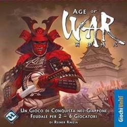 AGE OF WAR edizione italiana gioco da tavolo di dadi guerra in Giappone feudale