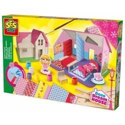 KIT CASA DELLE BAMBOLE Ses Creative Deco Dream House SET DI COSTRUZIONE età 6+