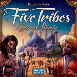 FIVE TRIBES I GENI DI NAQALA edizione italiana Asterion Press gioco da tavolo