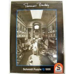 Puzzle SCHMIDT Indoor Canal 1000 pz mm493x693 59509 Thomas Barbey Strada d'acqua