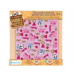 "Puzzle 22 pz. ""Principessa"", età 6+"