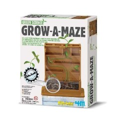 GROW-A-MAZE 4m CRESCITA DI UNA PIANTA Gioco scientifico in kit IDROPONICA età 8+
