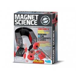 MAGNET SCIENCE 4m SCIENZA DEL MAGNETISMO Gioco scientifico in kit MAGNETI età 8+