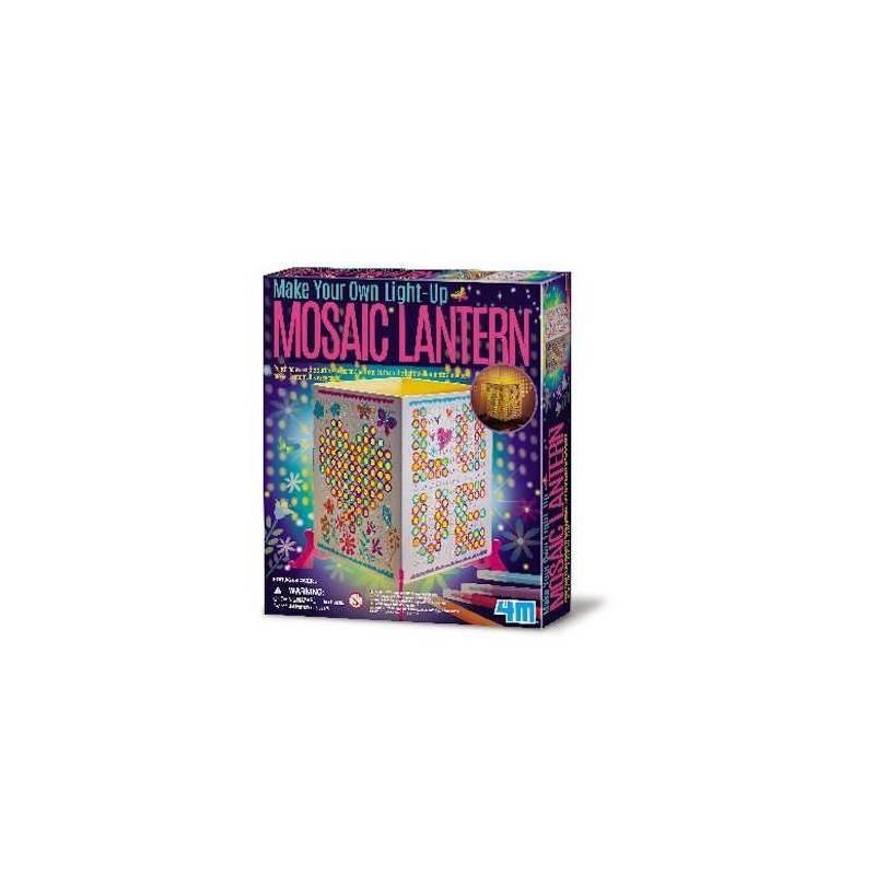 Mosaic lantern 4m crea la tua lampada mosaico kit for Crea la tua cameretta