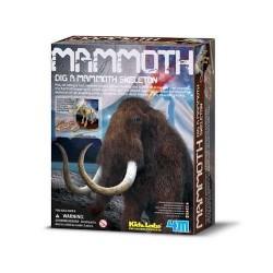 DIG A MAMMOTH scava e riporta alla luce un Mammuth DINOSAURI kit artistico 4M 8+