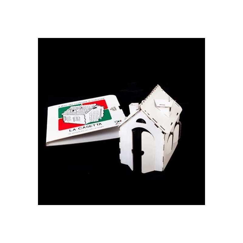 Libretto simba casetta da costruire e colorare in cartone 28 magic world gut - Casetta in cartone da colorare ...