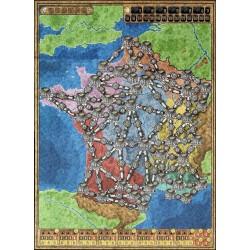 Karte Italien Frankreich.High Voltage Ausbau Map Italien Frankreich Power Grid Karte Italien Frankreich