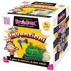 BRAIN BOX INVENZIONI italiano gioco di carte memoria da 8 anni memory brainbox