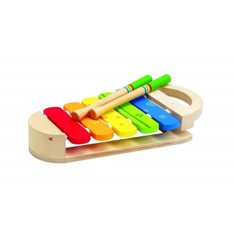 rainbow xylophon aus holz werkzeug f r kinder alter 12 monate hape xylophon giocolibreria semola. Black Bedroom Furniture Sets. Home Design Ideas