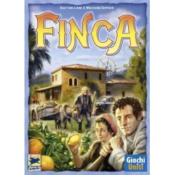 FINCA Giochi Uniti EDIZIONE ITALIANA gioco da tavolo GESTIONE RISORSE età 10+