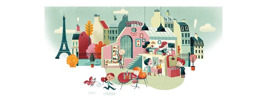 Kit artistici per bambini Djeco Aladine 4M