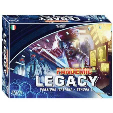 PANDEMIC LEGACY season 1 scatola BLU gioco da tavolo cooperativo in italiano