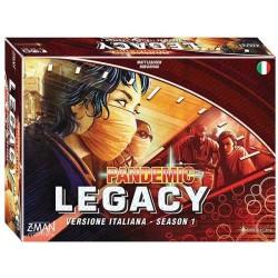 PANDEMIC LEGACY season 1 scatola ROSSA gioco da tavolo cooperativo in italiano