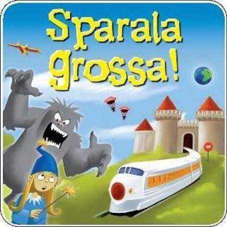 SPARALA GROSSA ! raccontare storie OLIPHANTE party game SCATOLA IN LATTA età 8+
