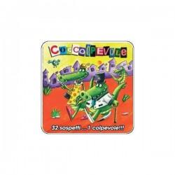 COCCOLPEVOLE osservazione OLIPHANTE party game SCATOLA IN LATTA età 6+ Cocktail Games